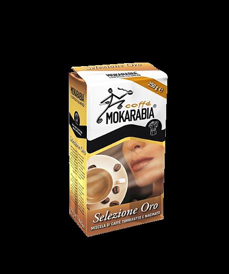 Mokarabia gorund coffee selezione oro 250g